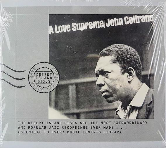 Cd John Coltrane - A Love Supreme - Impulse Grd 155 Lacrado