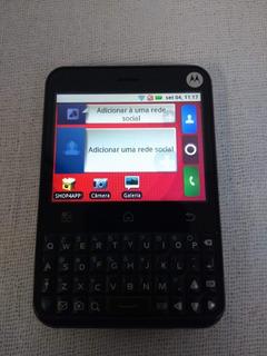Celular Motorola Mb502 Semi Novo - Desbloqueado