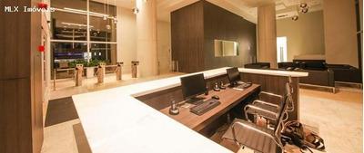 Sala Comercial/nova Para Locação Em Mogi Das Cruzes, Centro Civico, 1 Banheiro, 1 Vaga - 222