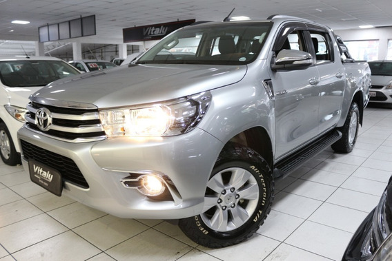 Toyota Hilux Srv 2.8 Diesel 4x4 Automatica 2017 Pick-up