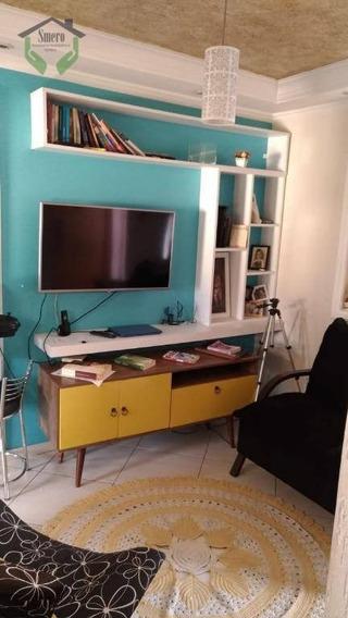 Lindo Apartamento Com 2 Dormitórios Para Alugar, 55 M² Por R$ 550/mês - Carapicuíba - Carapicuíba/sp - Ap3586