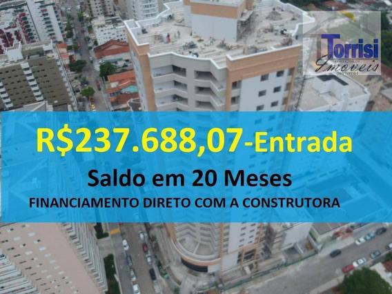 Apartamento Em Praia Grande, 03 Dormitórios Sendo 02 Suítes, Lazer Completo, No Forte Ap0752 - Ap0752