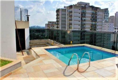 Cobertura Com 4 Dormitórios À Venda, 350 M² Por R$ 2.400.000,00 - Campo Belo - São Paulo/sp - Co0127