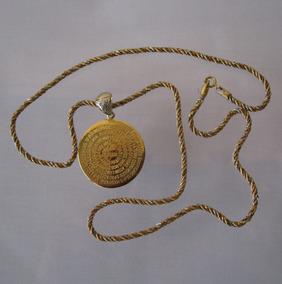 Colar Ouro Brilhantes Or. Pai Nosso 12 X Frete Grátis (109)