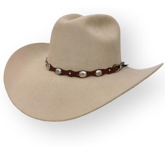 Texana De Lana Fina Tombstone Horma Denver, 20 Estrellas