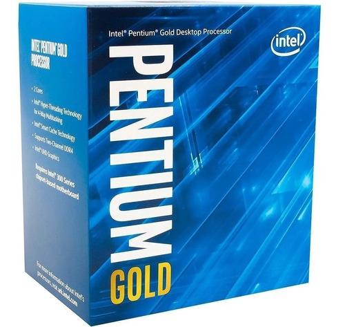 Kit Pentium Gold 5400 + Ipmh310g + 8gb 2666mhz - Novo