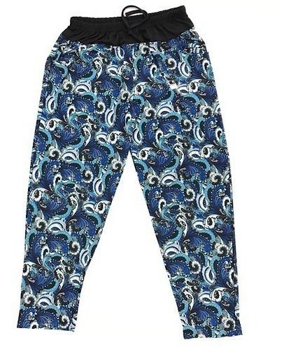 Pantalon Seda Fria Estampado Talles 4 Al 12