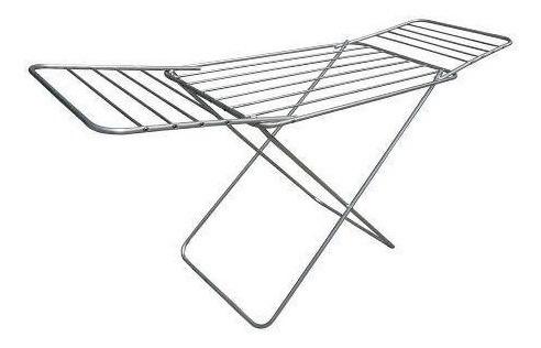 Varal Secador De Chão Em Aluminio 120x56 Com Abas - Botafogo