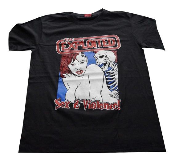 Camiseta The Exploited Importada Rock Activity Talla M
