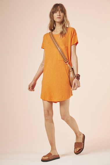 Vestido Ambrosius Naranja. Cher 2020.