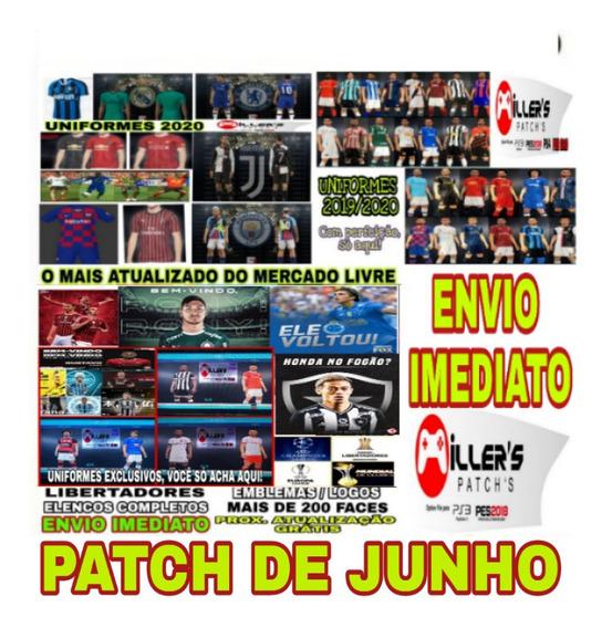 Patch 2020 Pes2018 Ps3 Estádios E Faces