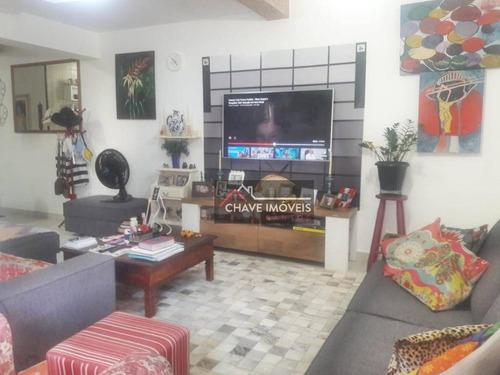 Imagem 1 de 30 de Apartamento À Venda, 79 M² Por R$ 630.000,00 - Aparecida - Santos/sp - Ap1657