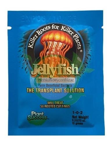 Imagen 1 de 1 de Jelly Fish Mycorrizhae Premiun 10 Gr Solucion De Trasplante