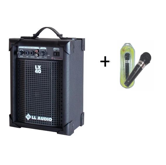 Caixa Amplificada Ll Audio Lx 40 Ativa + Brinde