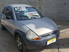 Ford Ka 1997 Ant. Y Cuotas En $$$$$ Aire Y Direccion