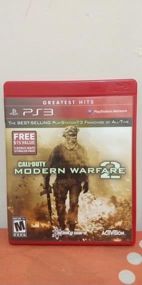 Jogo Call Of Duty Modern Warfare 2 Mídia Física Ps3