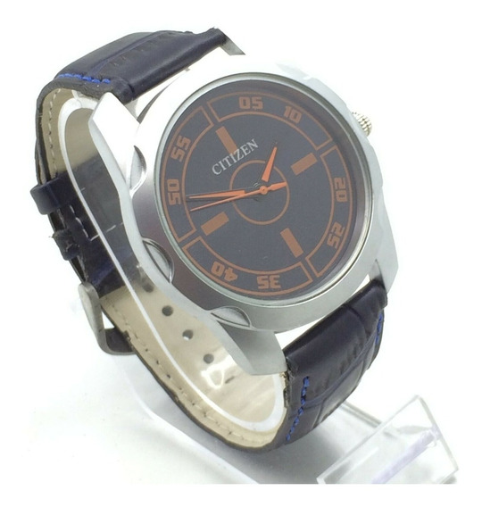 Reloj Citizen Cuarzo Negro Chedron 44 Mm Correa Negra (7