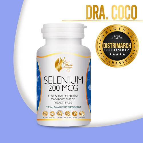Imagen 1 de 4 de Selenio 200 Mcg Dra Coco March Distrimarch