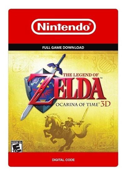 Zelda Ocarina Of Time 3d Nintendo 3ds - Código Digital