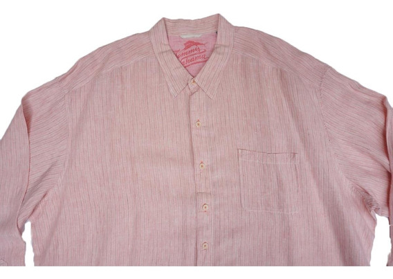 Camisa Tommy Bahama 100% Lino Talla 4xl Big Mens