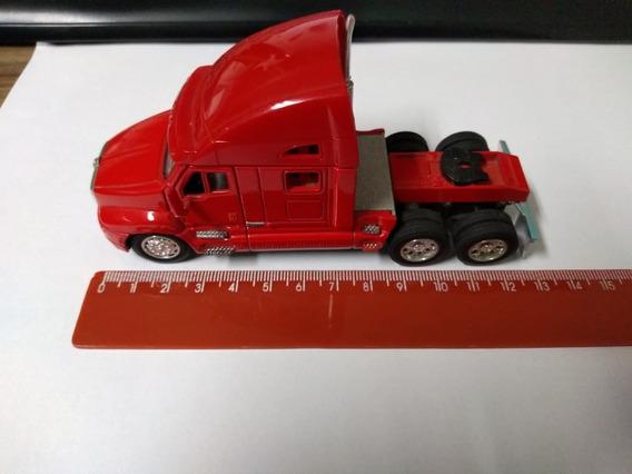 Caminhão T2000 Miniatura Na Escala 1:66 Kinsmart-truck