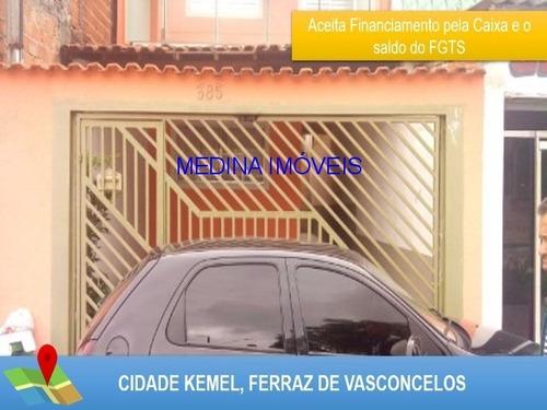 Imagem 1 de 30 de Sobrado Em Ferraz De Vasconcelos - Ca00218 - 32551681