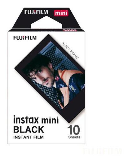 Filme Fujifilm Instax Mini 10 Fotos Borda Preta - 705060213