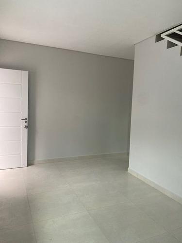 Imagem 1 de 14 de Belo Sobrado Novo À Venda Em Condomínio Fechado Vila Homero