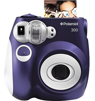 Câmera Polaroid Instantânea Pic 300 Purple