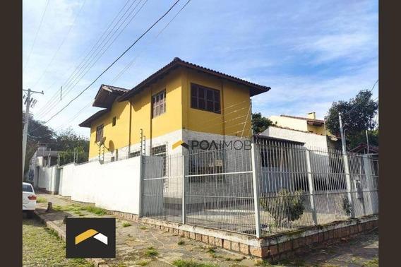 Casa Com 6 Dormitórios Para Alugar, 200 M² Por R$ 3.500,00/mês - Cavalhada - Porto Alegre/rs - Ca0808