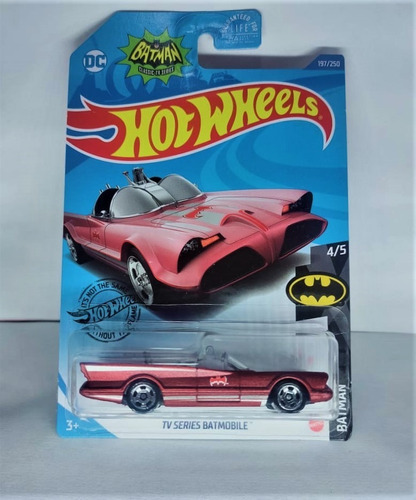 Hot Wheels Batman Tv Series Batmobile Exclusivo Kroger Usa