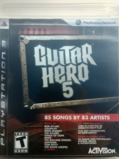 Guitar Hero 5 Para Ps3!!!