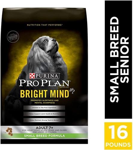 Proplan Bright Mind Adt 7+ Small Breed Us 16 Lb