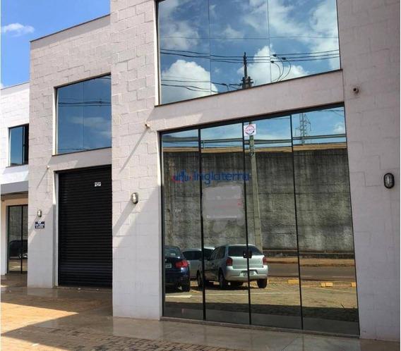 Barracão Para Alugar, 120 M² Por R$ 2.800/mês - Jardim Burle Marx - Londrina/pr - Ba0053