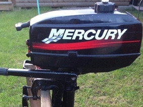 Motor Mercury 3,3hp 2t $32.500 Tanque Nafta 24 Litros $2300