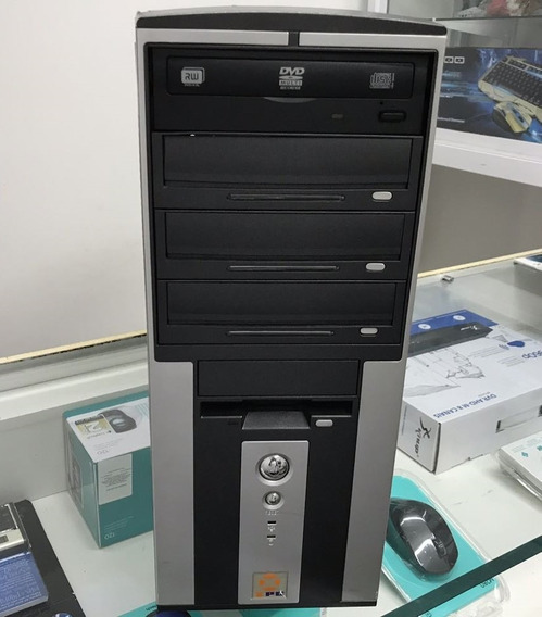 Cpu Desktop Xpc Intel Pentium Dual Hd 250g 2g Dvd Com Garantia E Nota Fiscal