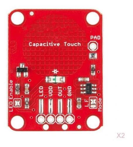 Imagen 1 de 9 de Conjunto De 2 Módulos Táctiles Interruptor Táctil