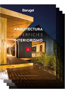 Combo Libros Barugel 3 4 5 Y 6 Arquitectura, Superf Interior