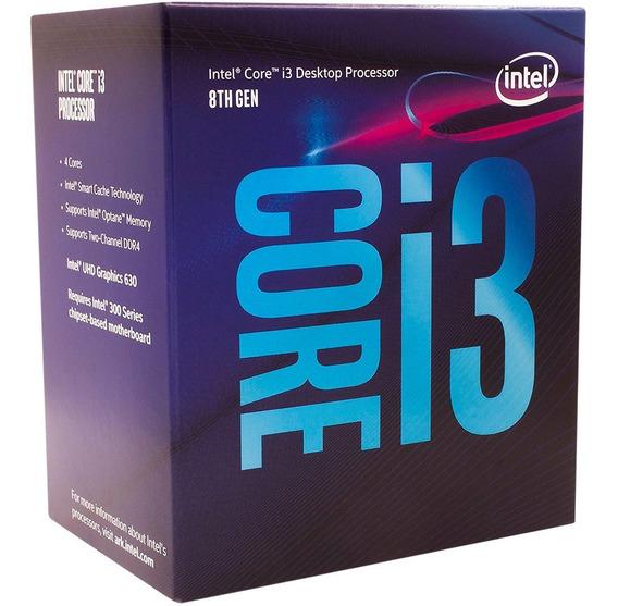 Processador Intel 1151 Core I3-8100 3,6ghz 6mb 8º Geração Box