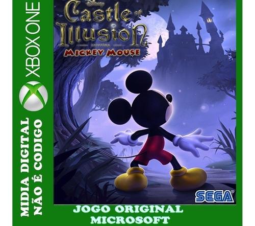 Mickey Castelo Das Ilusões  Xbox One