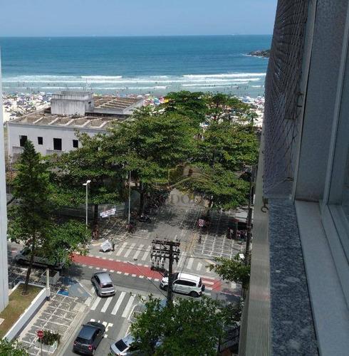 Apartamento Com 3 Dormitórios + Dep. Completa, 140 M² - Quadra Do Mar, Praia Das Pitangueiras - Guarujá/sp - Ap1199