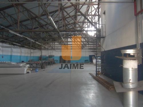 Galpão Para Locação No Bairro Alto Da Mooca Em São Paulo - Cod: Ja8280 - Ja8280