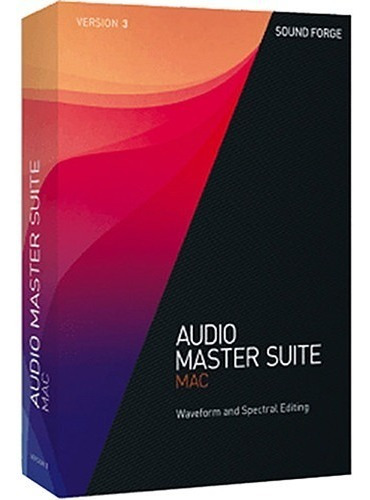 Sony Audio Master Suite Mac 3 Licencia Original Full