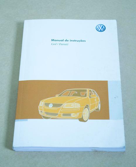 Manual De Instruções Gol / Parati 2011 (g4)