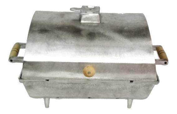 Churrasqueira Grande Alumínio Fundido / Batido À Bafo