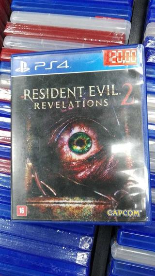 Resident Evil Revelations 2 Ps4 (frete 18 Reais)