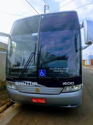 Onibus Rodoviário Busscar Hi360 Trucado Com Ar