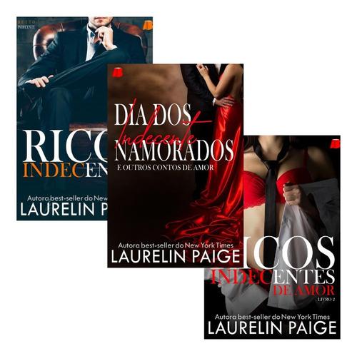 Livros De Romance Erótico Laurelin Paige  - Kit Presente
