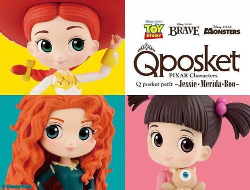 Set De Figuritas Disney Pixar Boo, Brave, Jessie, Toy Story