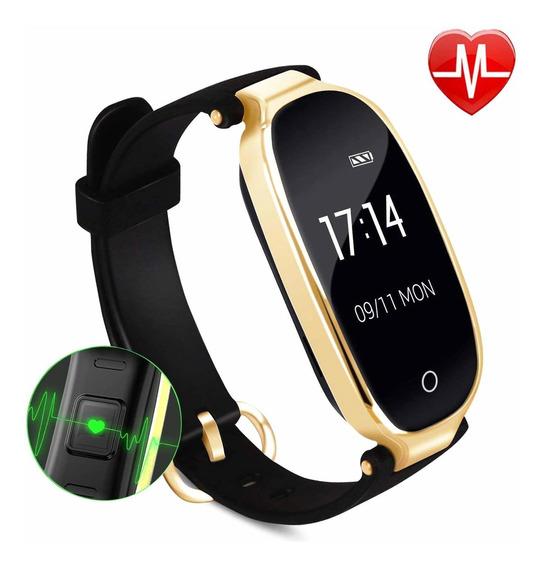 Lady Fitness Tracker, Ip67 Reloj Inteligente A Prueba De Agu